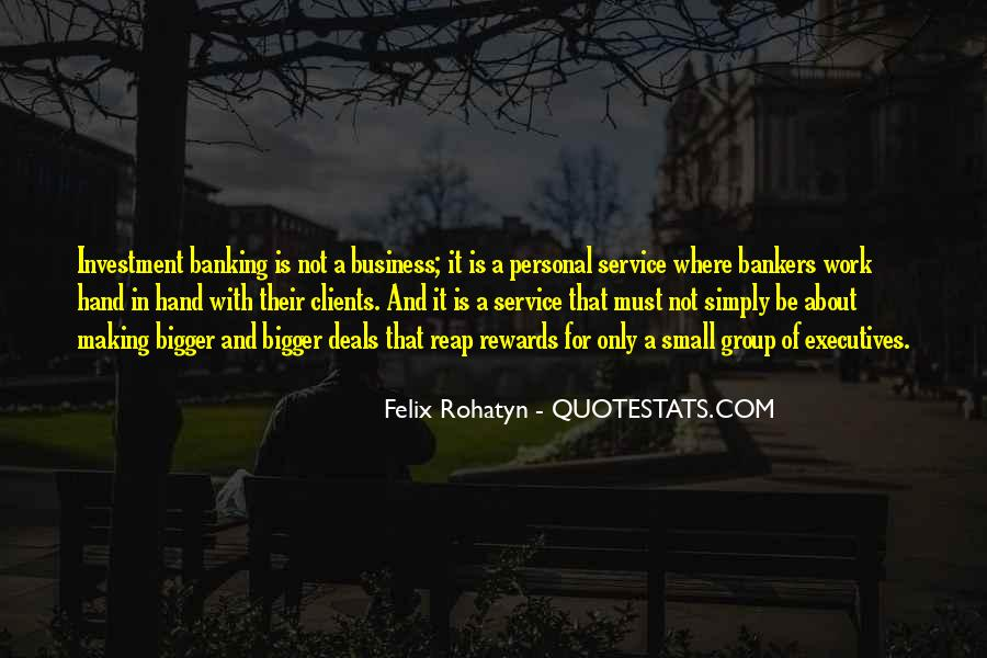 Quotes About Personal Business #648782