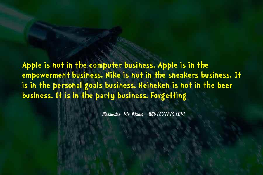 Quotes About Personal Business #648964