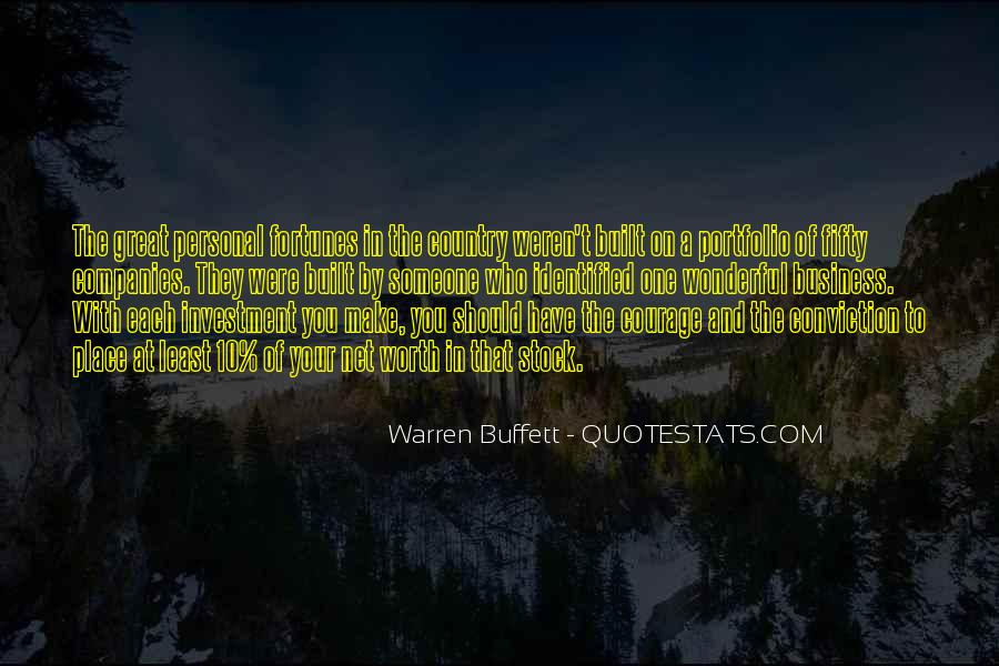 Quotes About Personal Business #778444