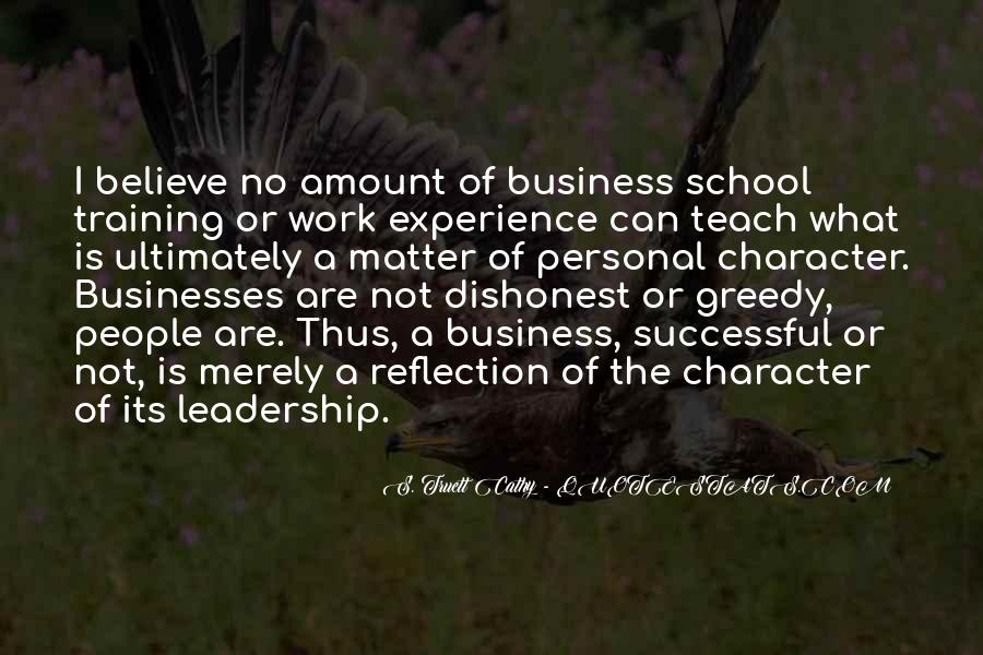 Quotes About Personal Business #785841