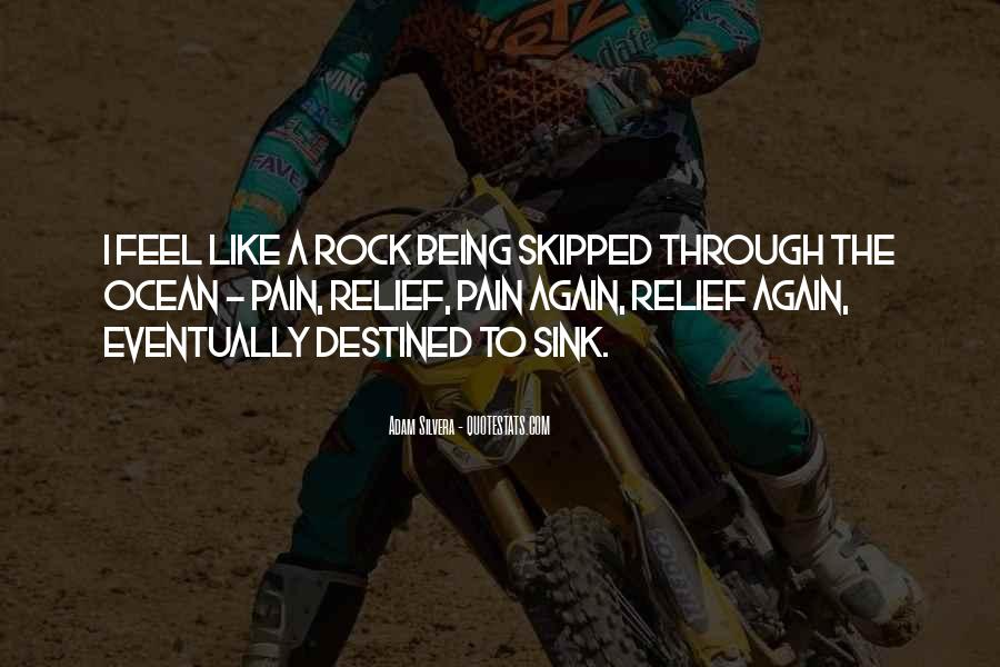 Quotes About Being A Rock For Someone #140522