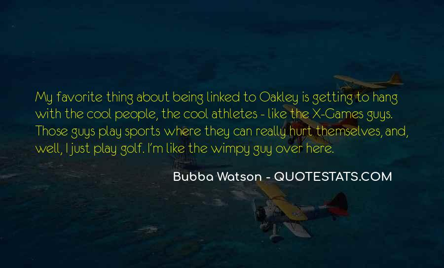 Quotes About Athletes Getting Hurt #437175