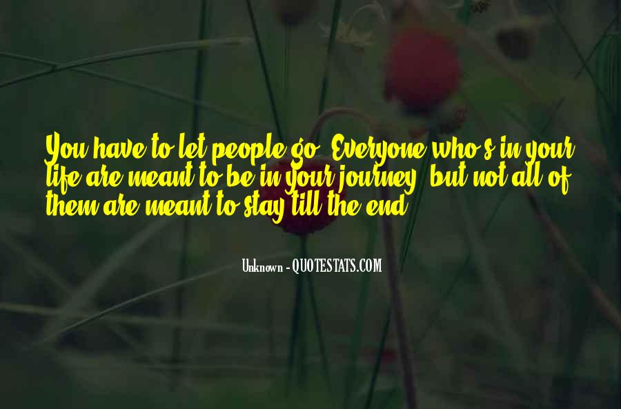 Quotes About Not Meant To Be #249019