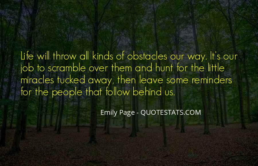 Quotes About Overcoming Obstacles And Challenges #433665