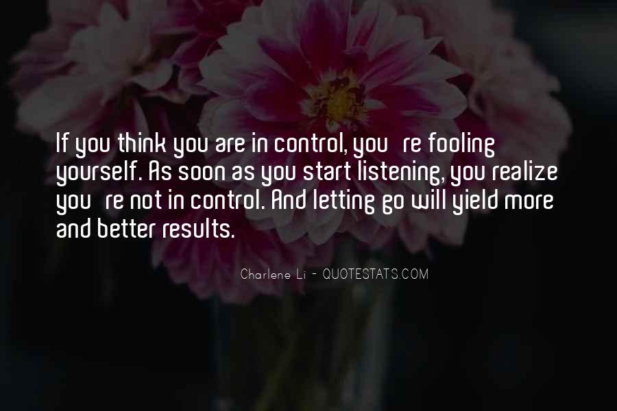 Quotes About Fooling Yourself #212595