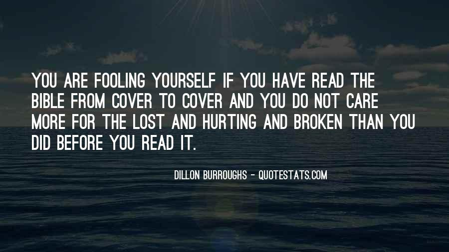 Quotes About Fooling Yourself #801653