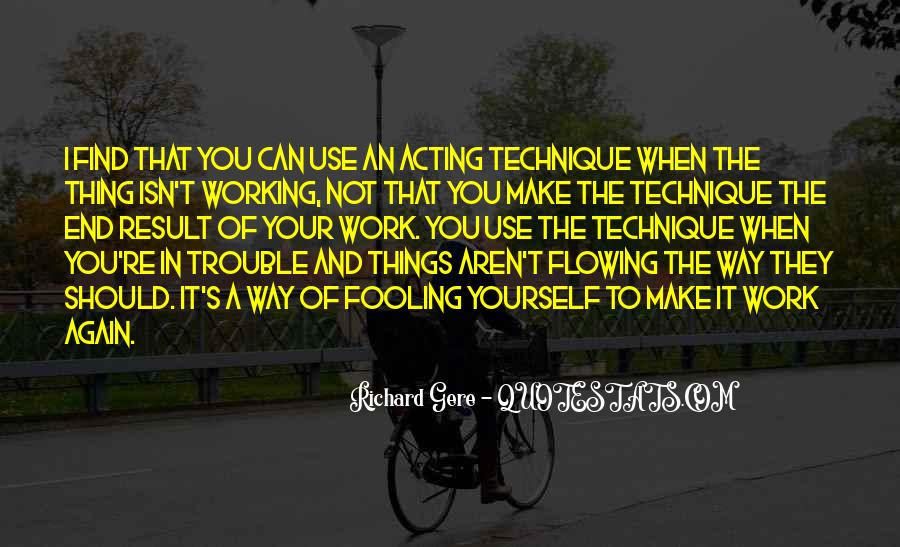 Quotes About Fooling Yourself #949382
