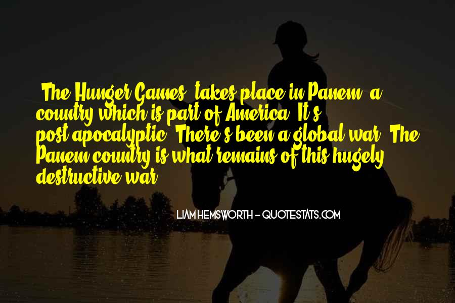 Quotes About Panem Hunger Games #43665