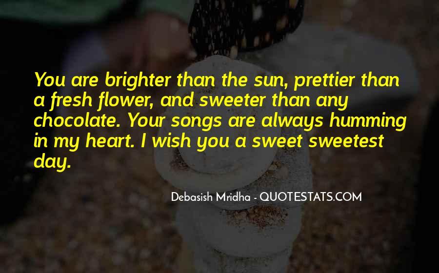 Quotes About Sweetest Day #1277326