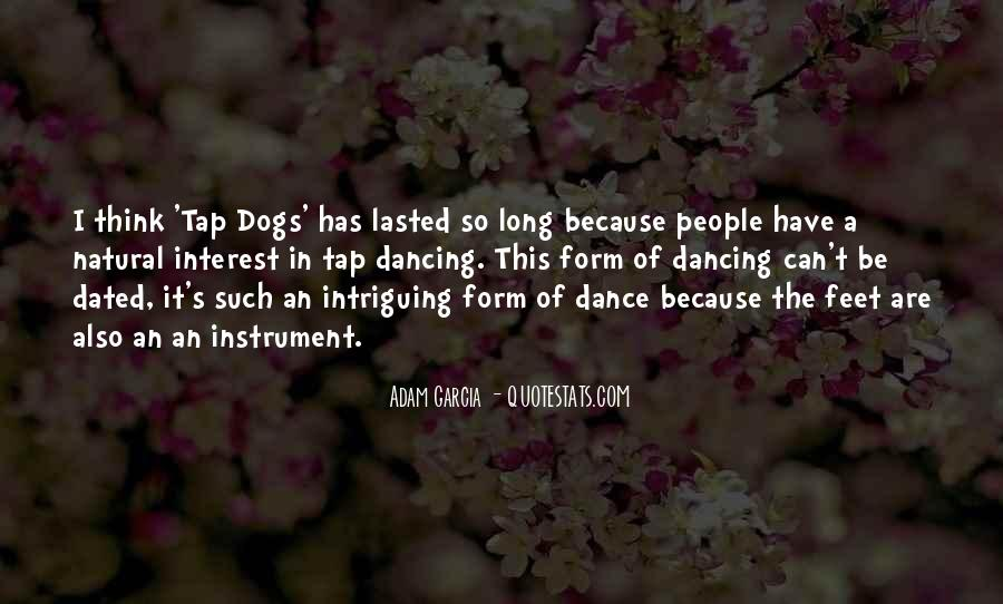 Quotes About Tap Dance #102573