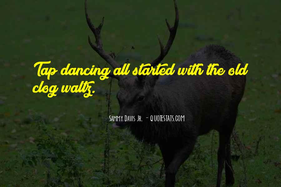 Quotes About Tap Dance #1103142