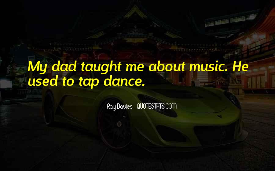 Quotes About Tap Dance #1525524