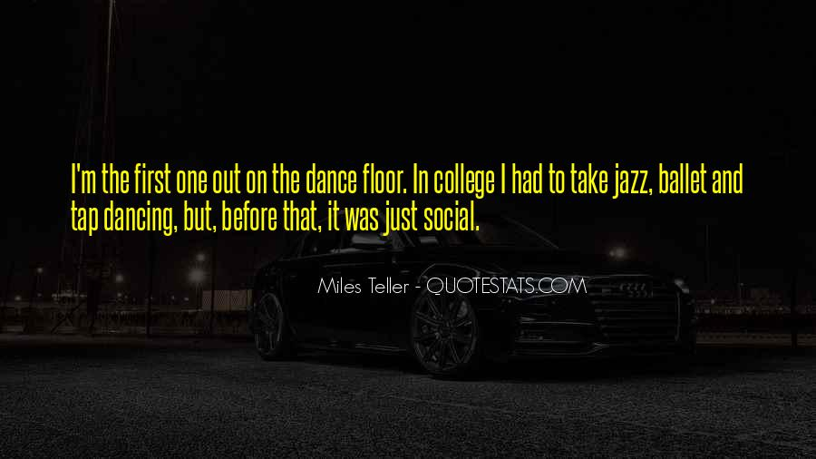 Quotes About Tap Dance #1818092