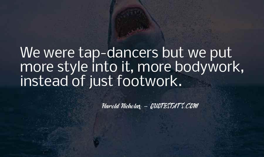 Quotes About Tap Dance #481789