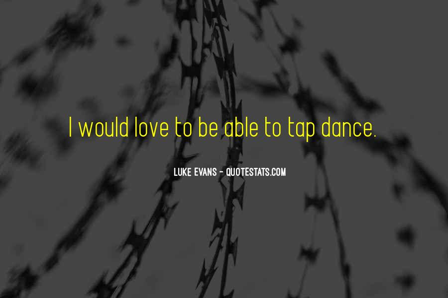 Quotes About Tap Dance #783614