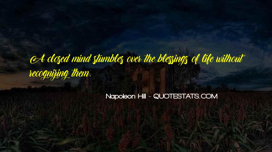 Quotes About Recognizing Your Blessings #1581006