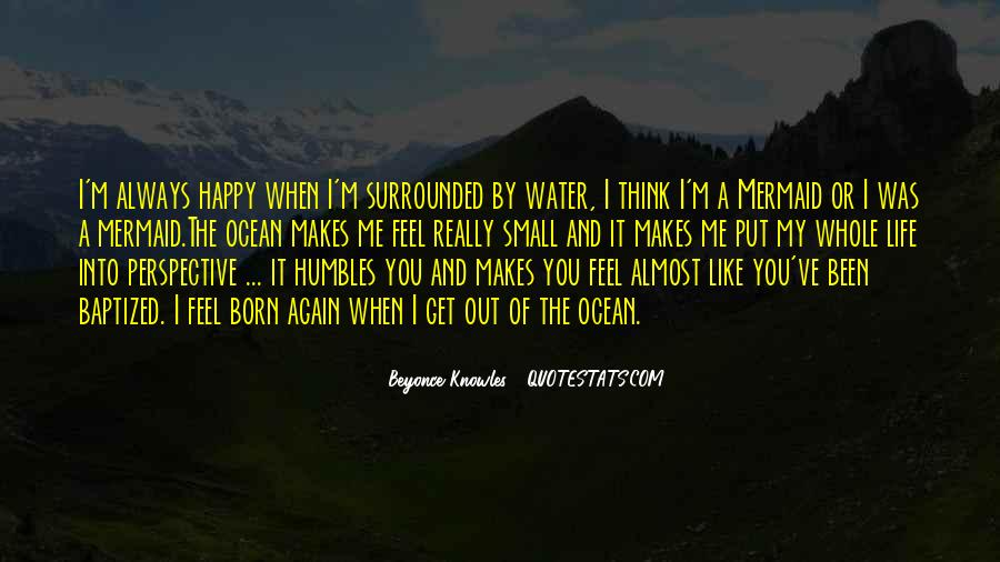Quotes About Life Like Water #29660