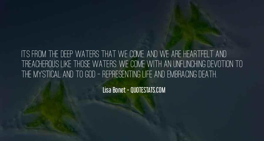 Quotes About Life Like Water #571263