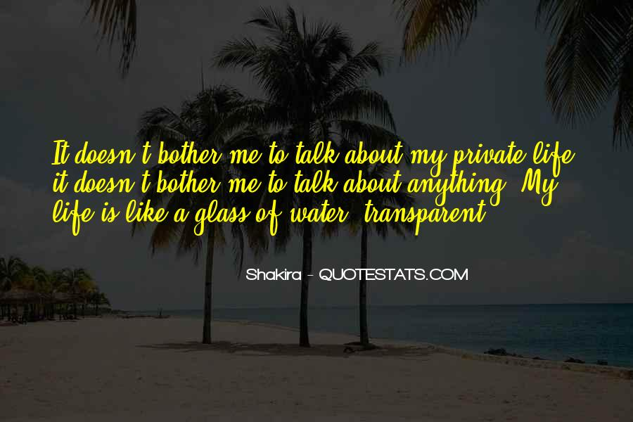 Quotes About Life Like Water #604716