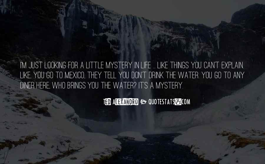 Quotes About Life Like Water #657025