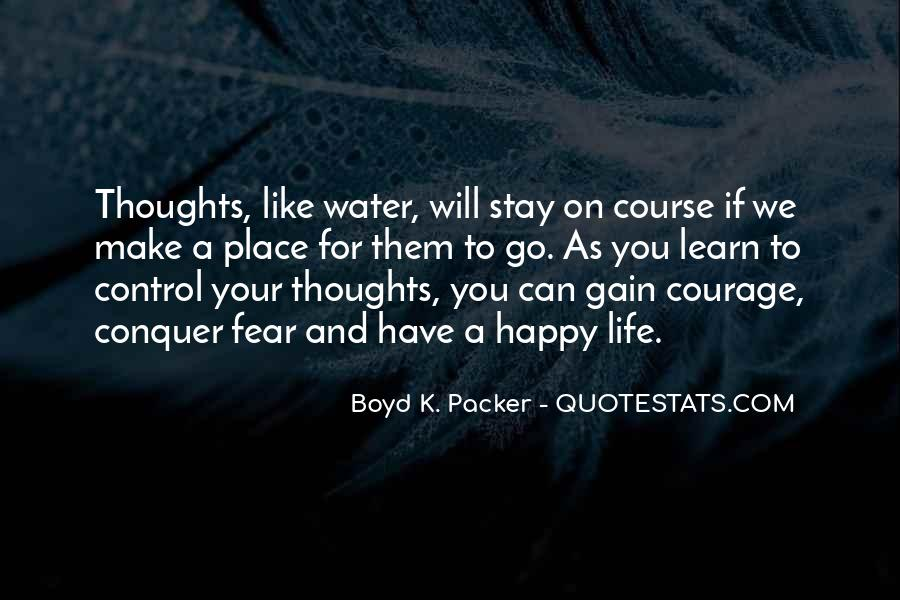 Quotes About Life Like Water #837651