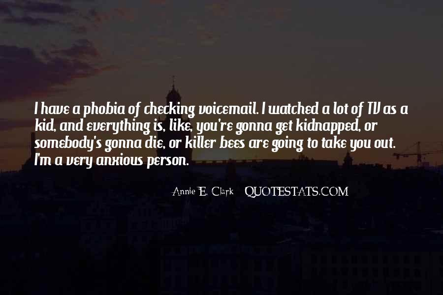 Quotes About Killer Bees #1668511