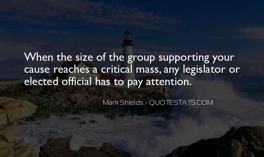 Quotes About Supporting A Cause #309977