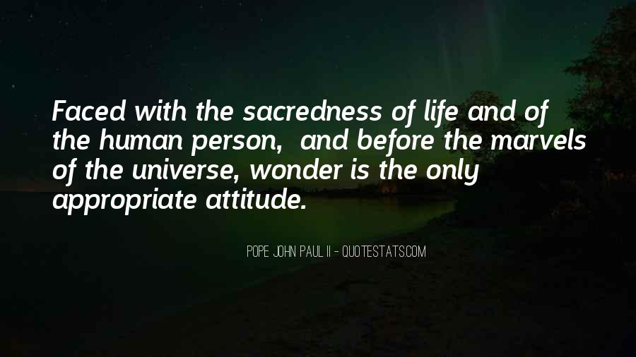 Quotes About The Wonder Of The Universe #1011462