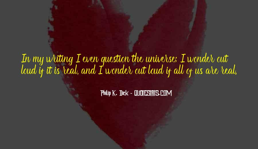 Quotes About The Wonder Of The Universe #1189127