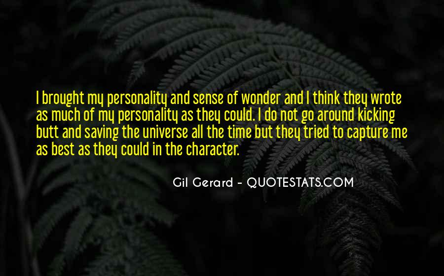 Quotes About The Wonder Of The Universe #1742547