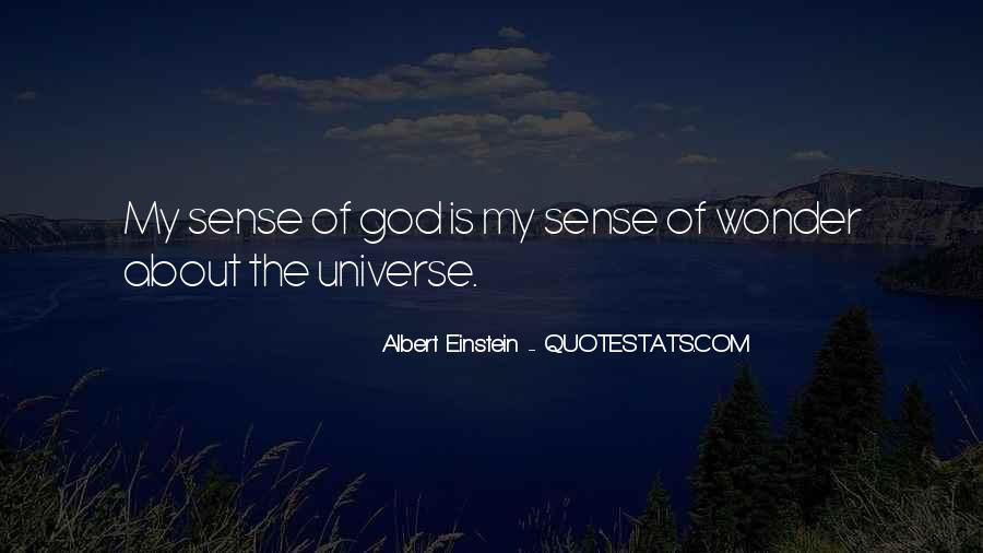 Quotes About The Wonder Of The Universe #27202