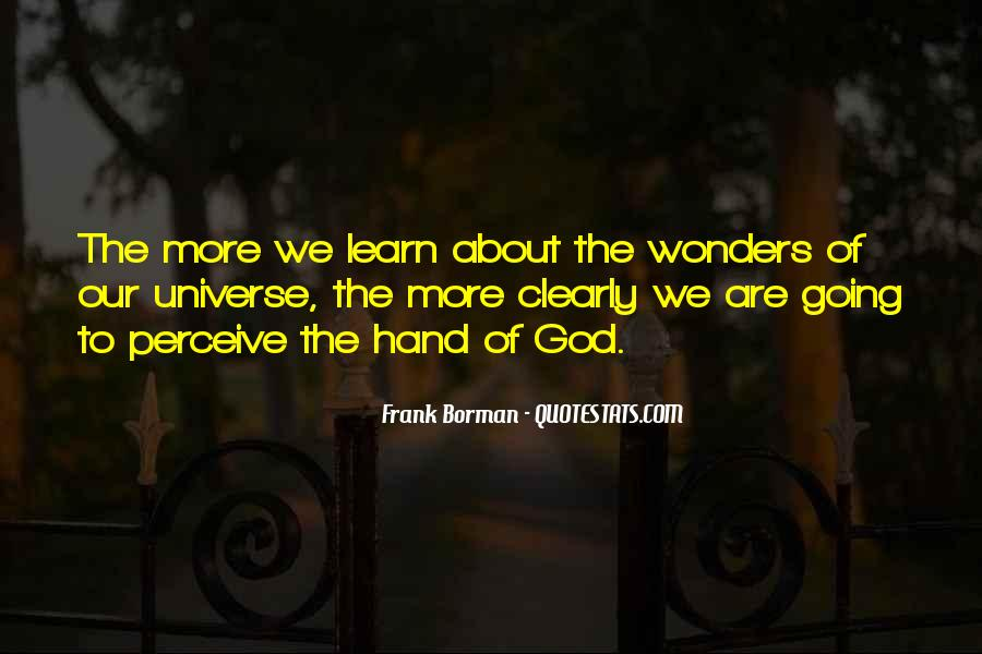 Quotes About The Wonder Of The Universe #347591