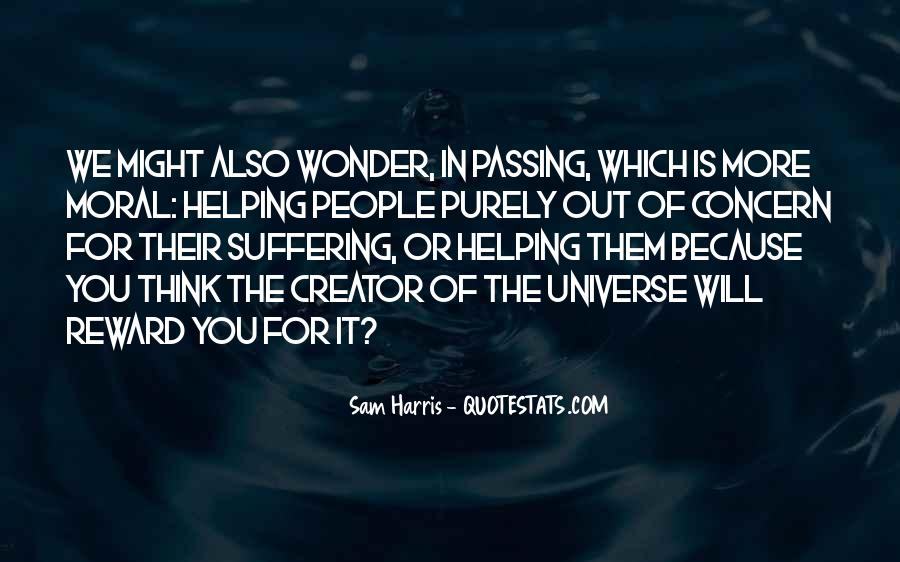 Quotes About The Wonder Of The Universe #464286