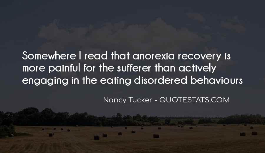 Quotes About Eating Disorders Recovery #1567165