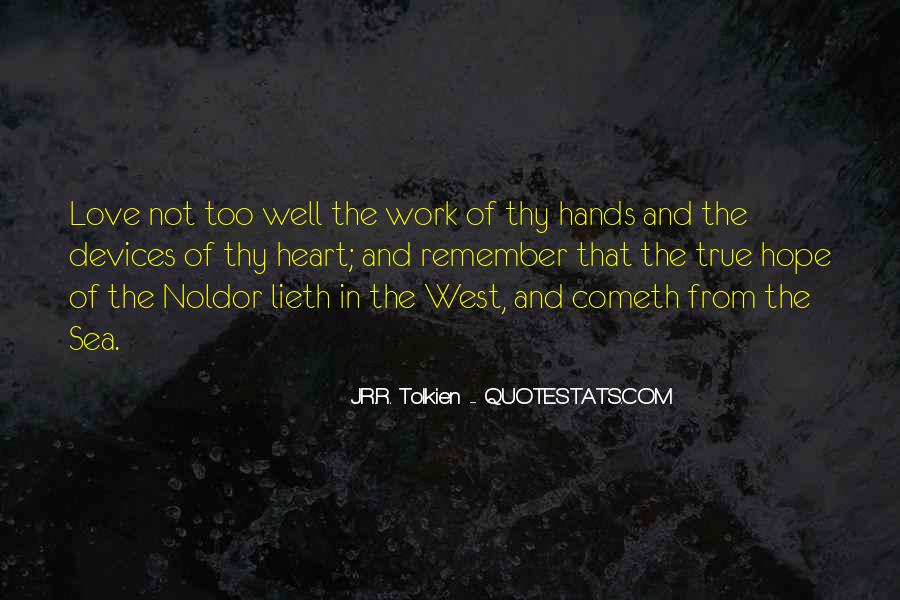 Quotes About The Noldor #619749