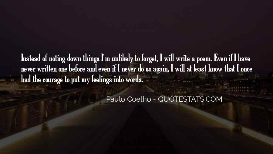 Quotes About Coelho #13190