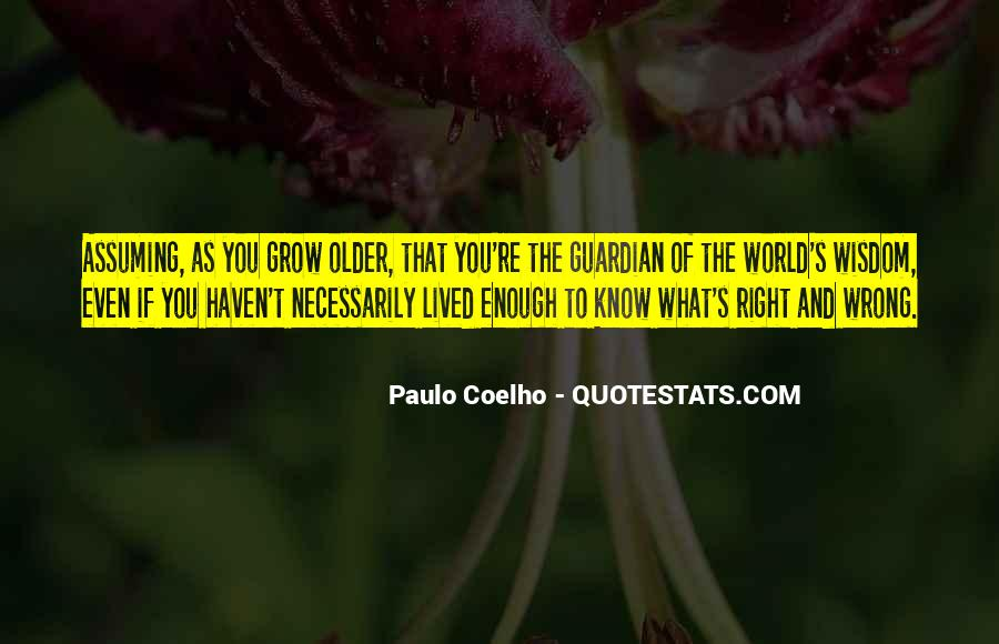 Quotes About Coelho #47811