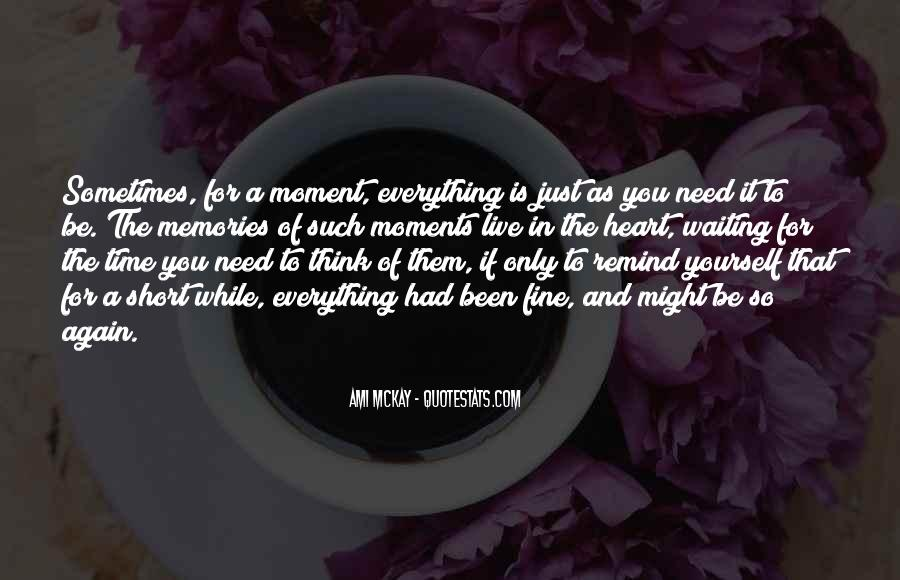 Quotes About Waiting And Time #123338