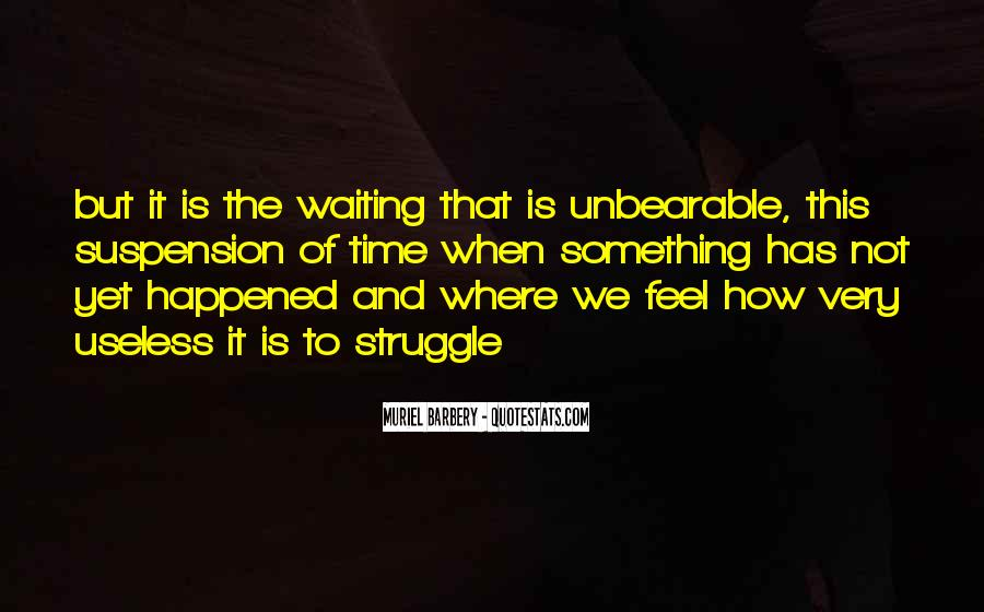 Quotes About Waiting And Time #135379