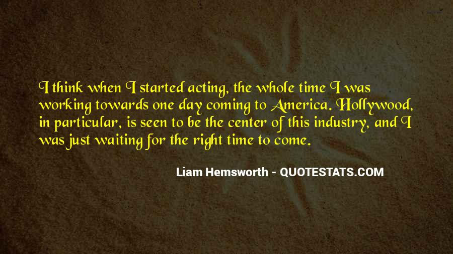 Quotes About Waiting And Time #326227