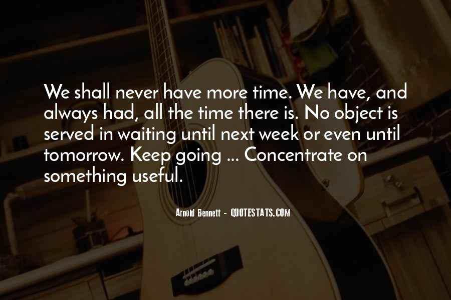 Quotes About Waiting And Time #375340