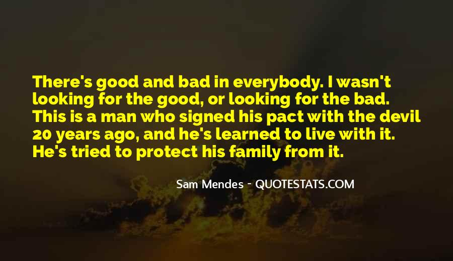 Quotes About The Family Man #185468