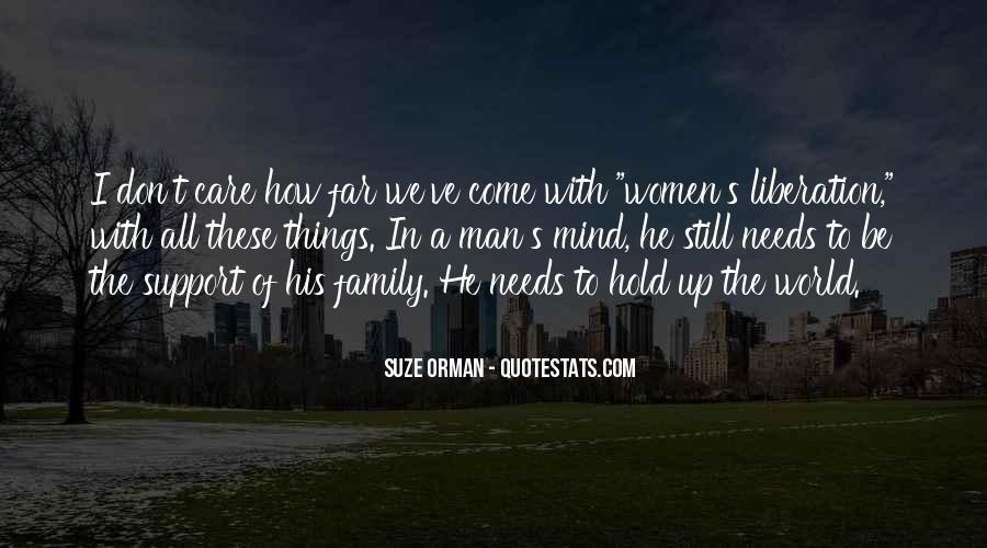 Quotes About The Family Man #285497