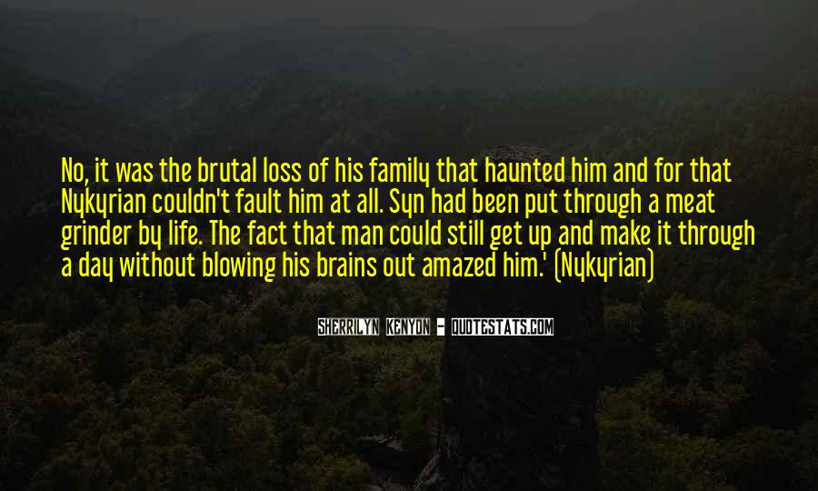 Quotes About The Family Man #34068