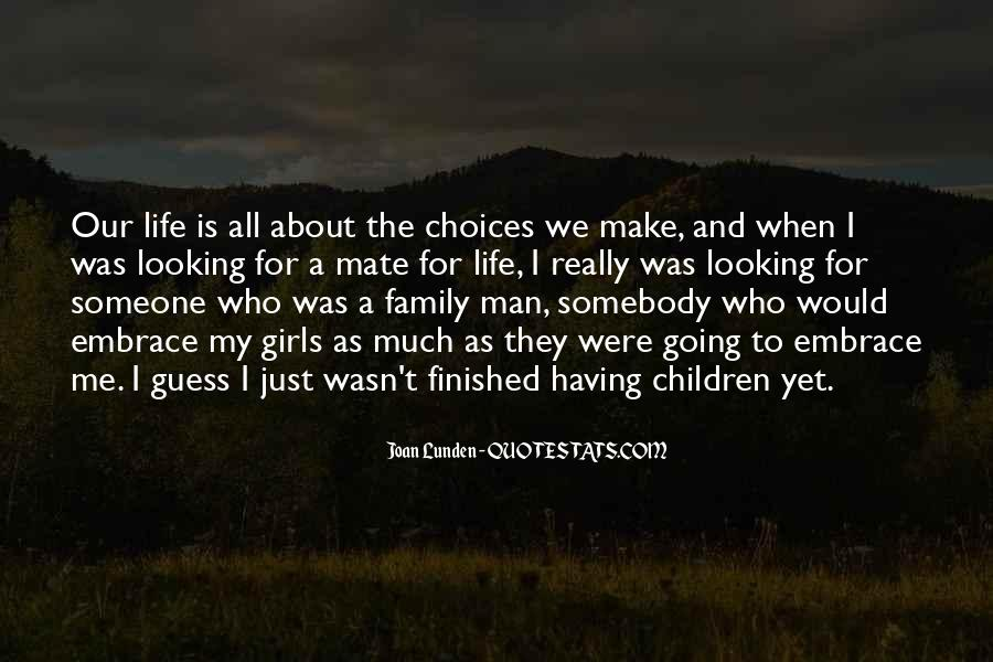 Quotes About The Family Man #81413