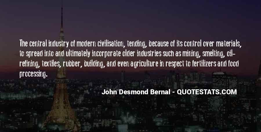 Quotes About Modern Agriculture #164363