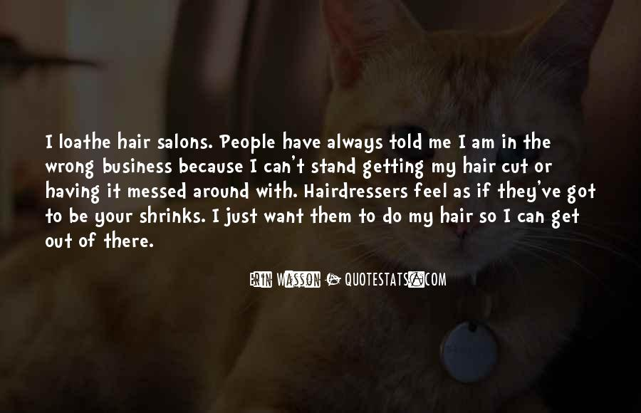 Quotes About Salons #52001
