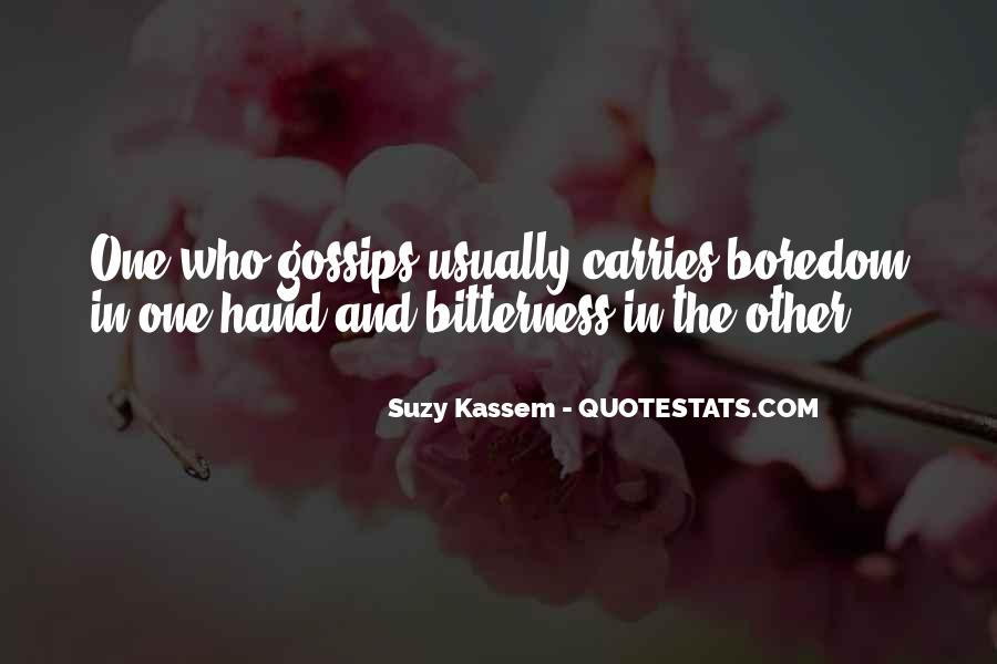 Quotes About Gossip And Rumors #1074138