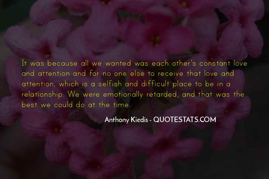 Quotes About Time For Each Other #265703