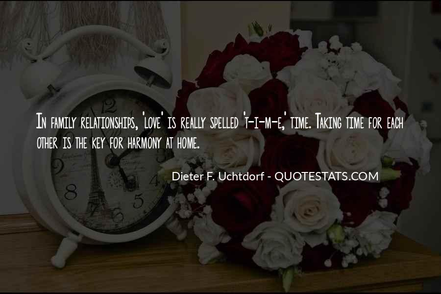 Quotes About Time For Each Other #443274